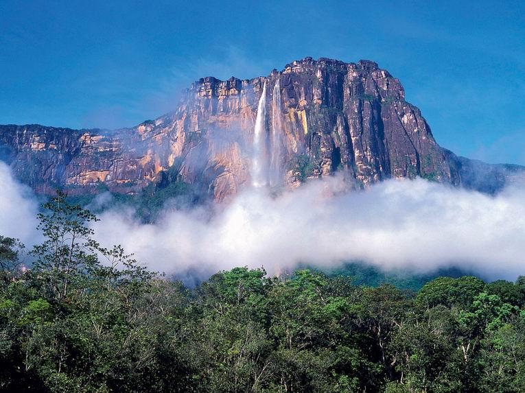 Анхель самый высокий водопад в мире 10