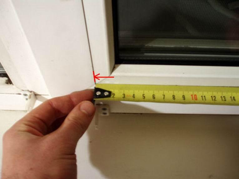 Как правильно сделать замеры окна для жалюзи 816
