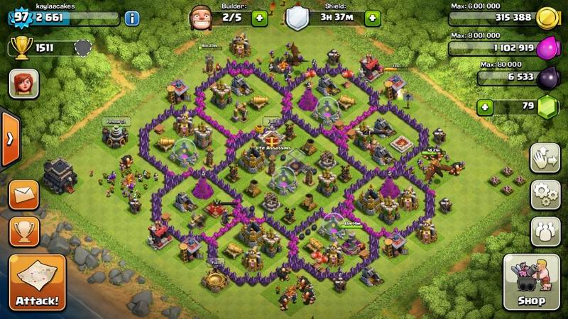 Clash of Clans скриншот 2
