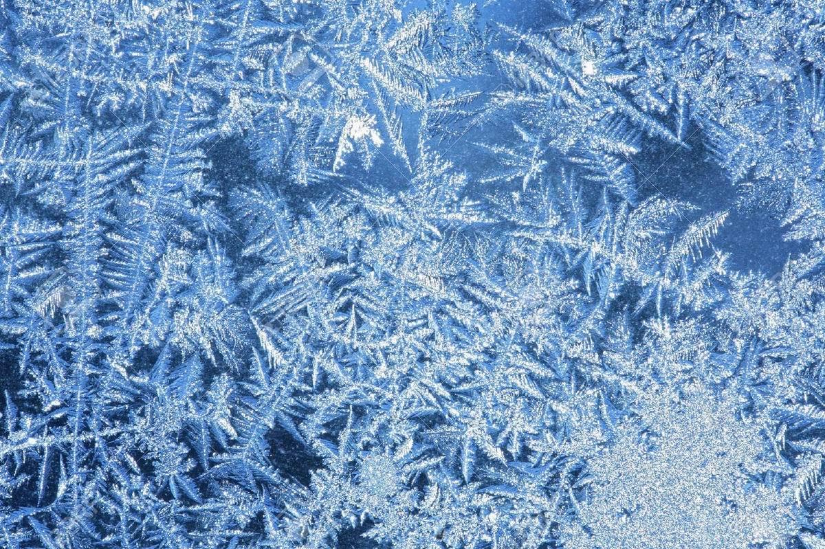 Снежный узор на стекле своими руками 118