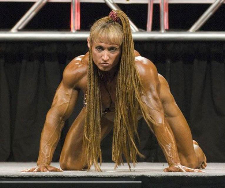 Накаченные Девушки культуристки / Female bodybuilders.