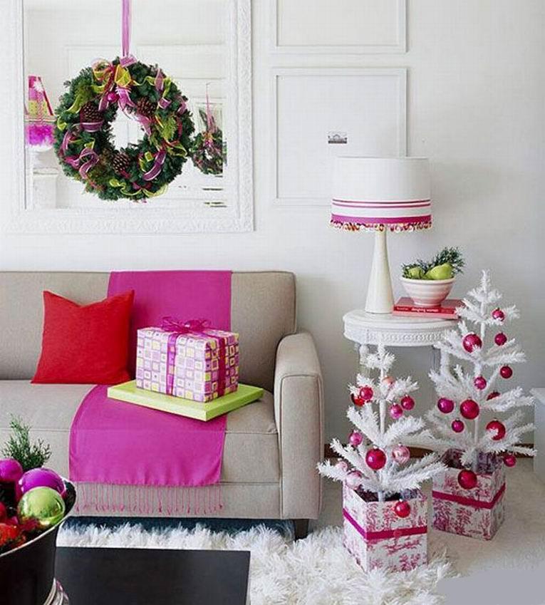 Как украсить маленькую комнату к новому году