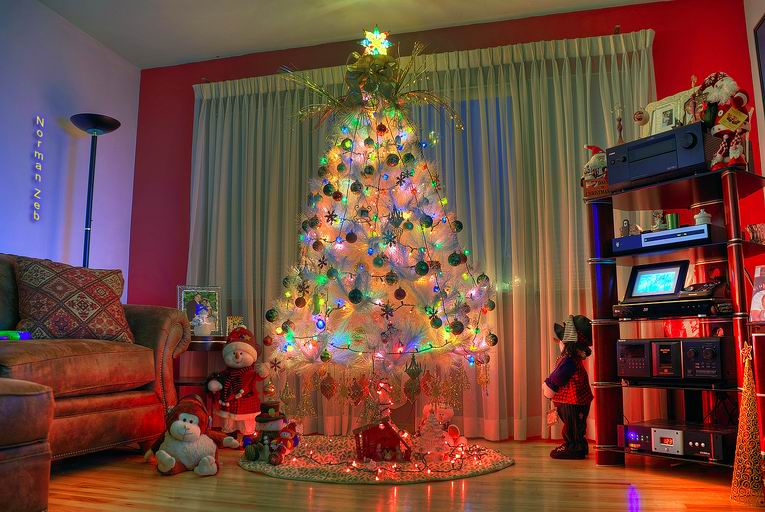 Украсить комнату на новый год 2015 своими