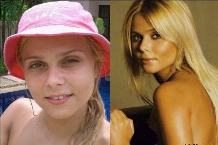 Российские знаменитости без макияжа фото 13