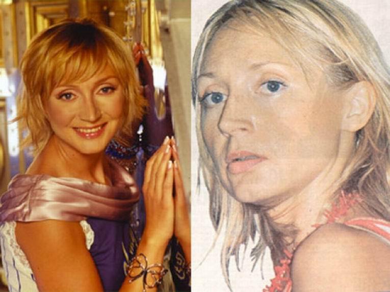 Российские знаменитости без макияжа фото 4