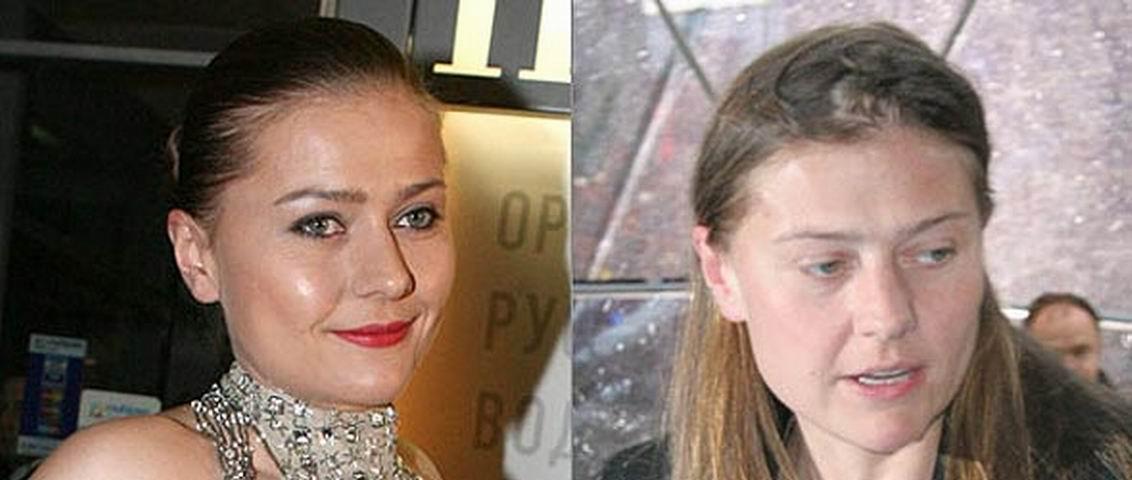 Российские знаменитости без макияжа фото 6