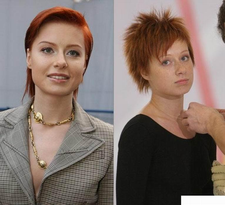 Российские знаменитости без макияжа фото 8