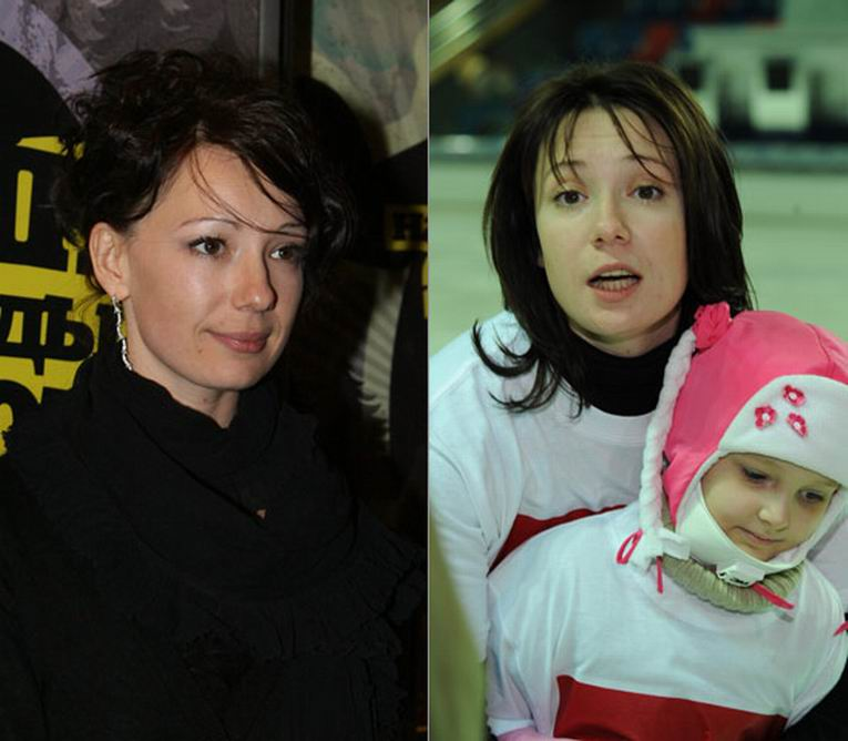 Российские знаменитости без макияжа фото 9
