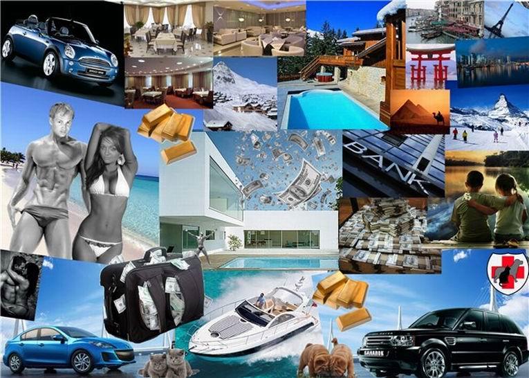 картинки визуализация богатства